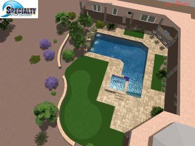 3D Pool Design Specialty Pools