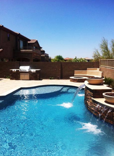 Appealing Swimming Pool Builders Queen Creek Az Pictures