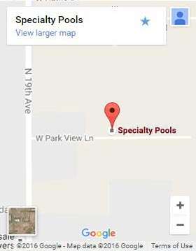 Specialty Pools on Google Maps